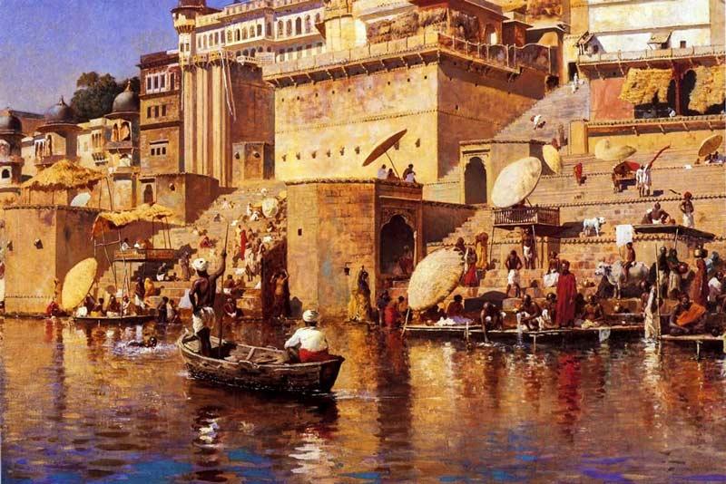 Edwin Lord Weeks, Sul fiume di Benares 1883