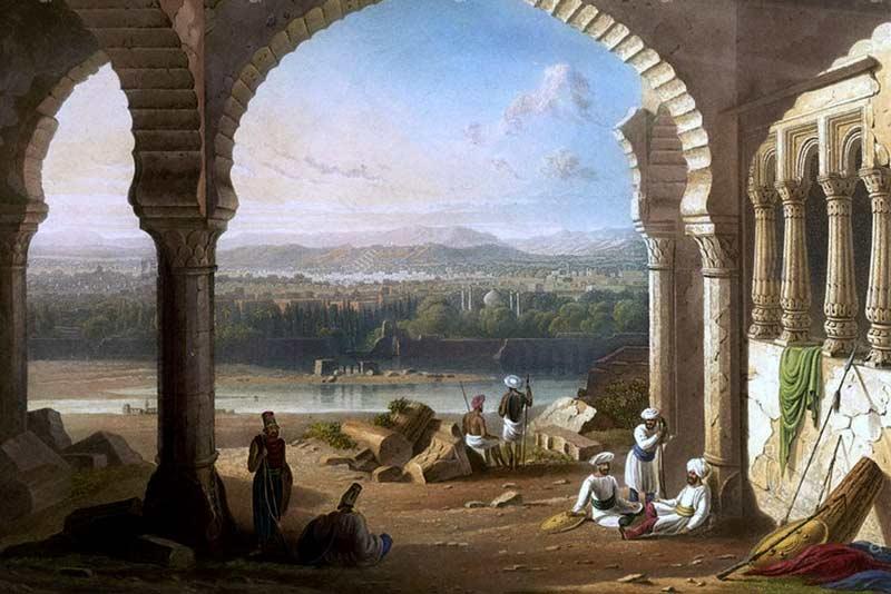 William Purser, Il palazzo di Aurangzeb, 1830