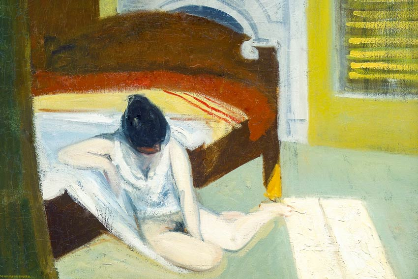 Edward Hopper, Summer interior, 1909