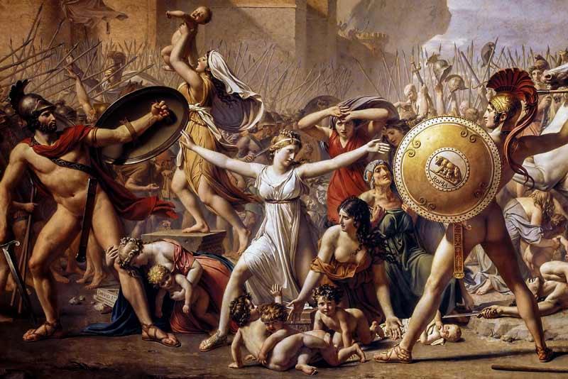 Jean Louis David, Le Sabine, 1794-1799