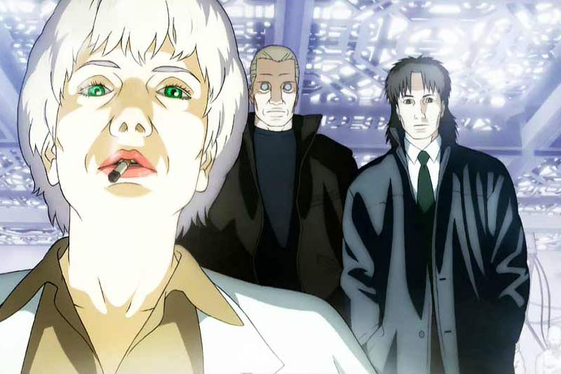 Il cammeo di Donna Haraway in Ghost in the Shell