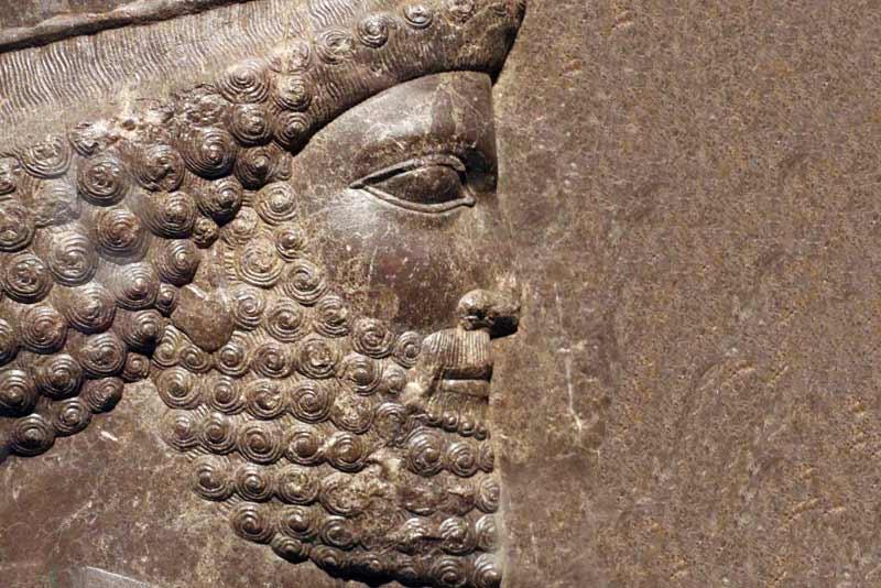 Fregio palaziale a Persepoli