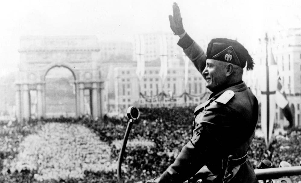 mala tempora currunt il fascismo