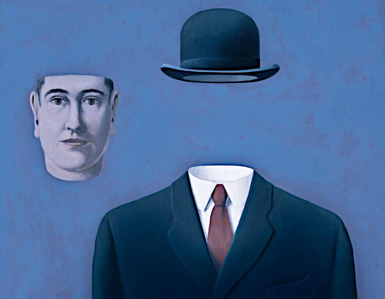 René Magritte, Il pellegrino, 1966