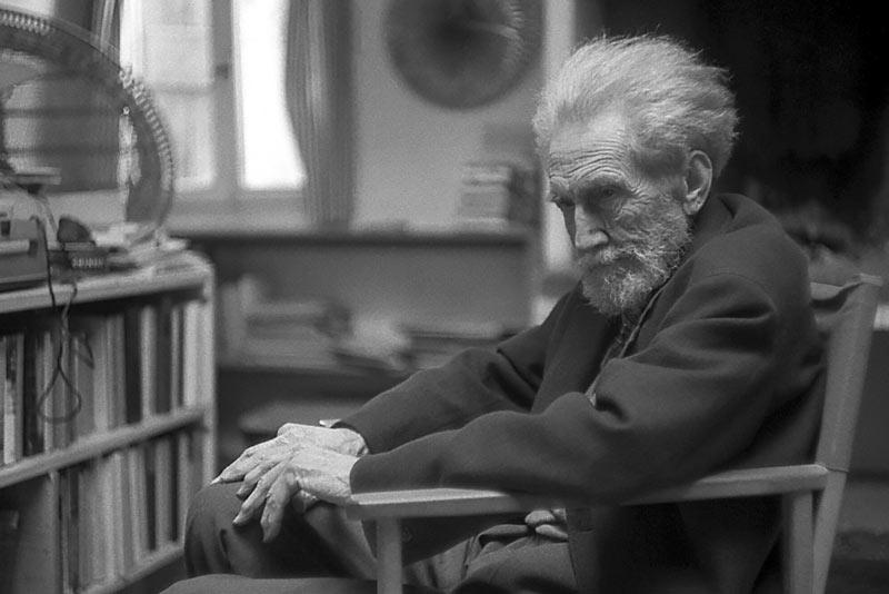 Ezra Pound, uno dei più importanti intellettuali del fascismo