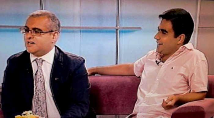 Carlo Coppola e David Pipoyan ospiti di Sergey Danielyan a Shant TV