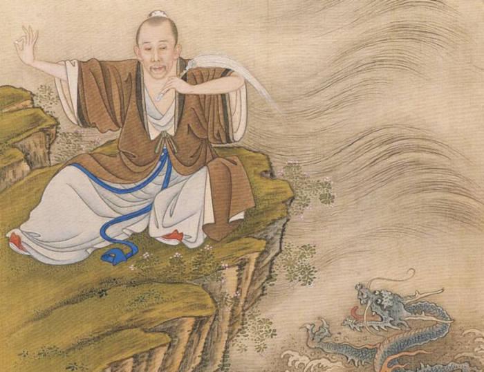 Dall'Album dell'Imperatore Yongzheng in costume, una raccolta di dipinti che ritrae l'imperatore in vesti inusuali.