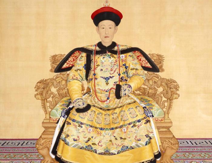Ritratto dell'imperatore Qianlong