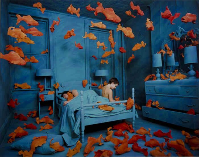 Sandy Skoglund, Revenge of goldfish, 1979
