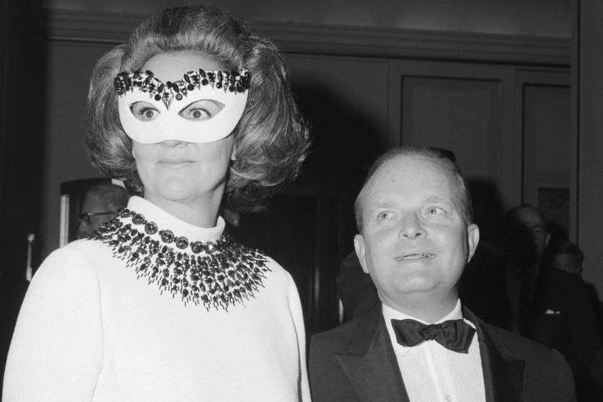 Truman Capote e  Katherine Graham
