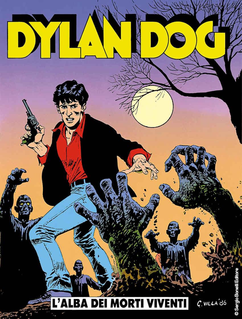 Dylan Dog copertina L'Alba dei morti viventi