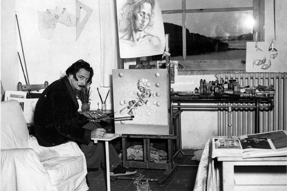 Salvador Dalì - Atelier