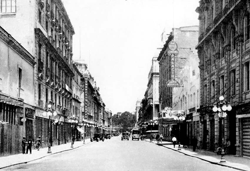 Città del Messico negli anni 30