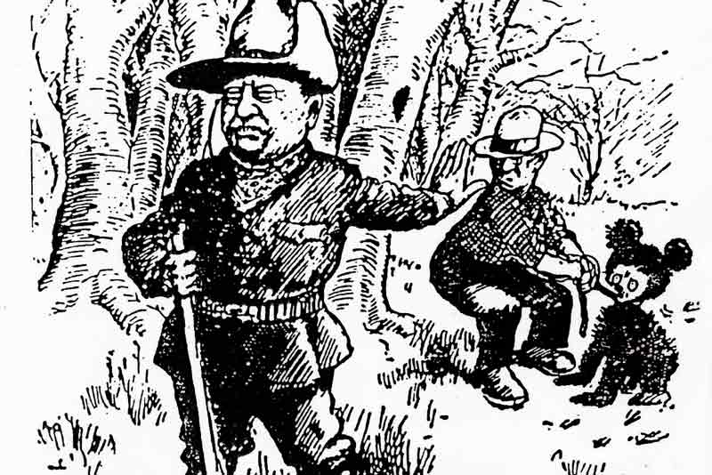 Clifford Berryman Roosevelt e l'orso