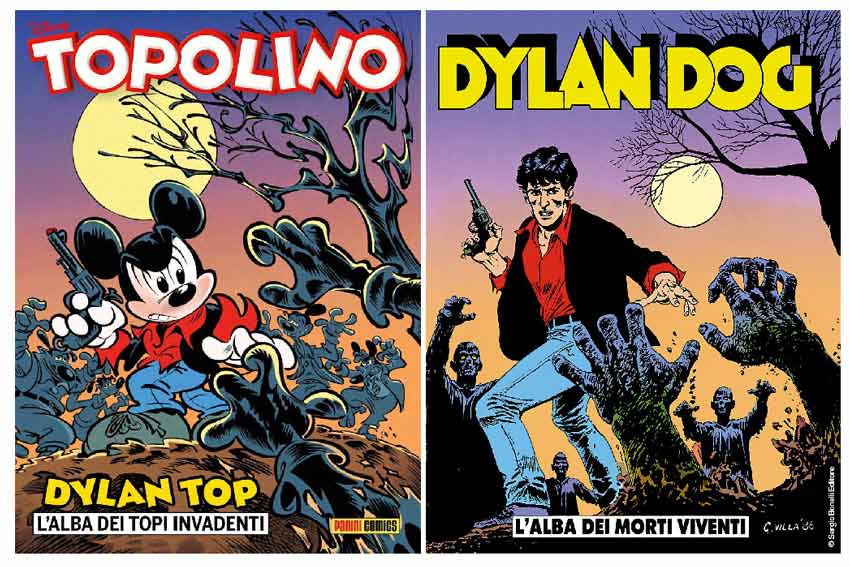Dylan Top e Dylan Dog