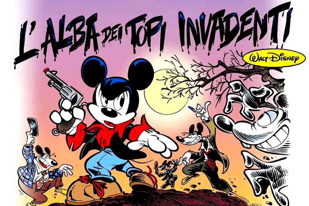 Dylan Top l'alba dei topi invadenti