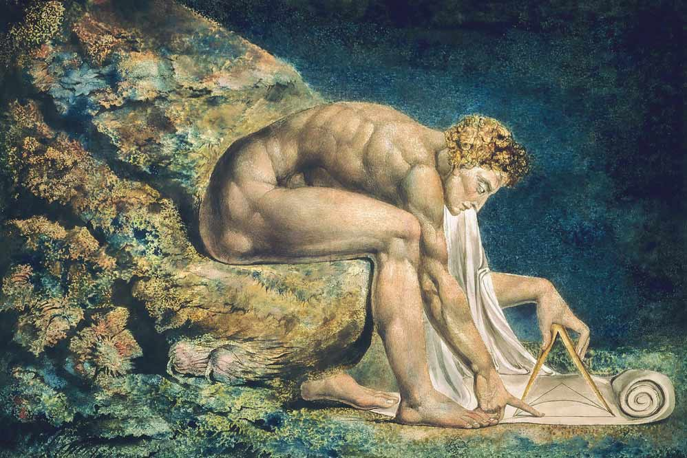 Newton William Blake