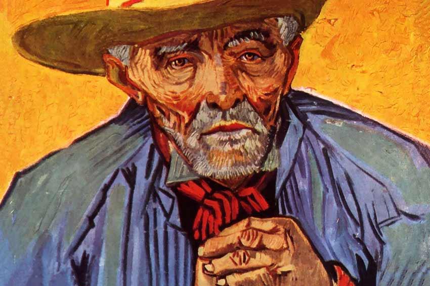 Vincent Van Gogh, Ritratto di Patience Escalier