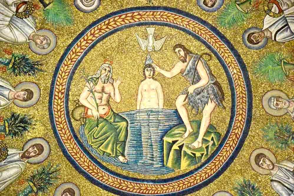 Percorsi: Alto medioevo astratto. Mausoleo di Galla Placidia