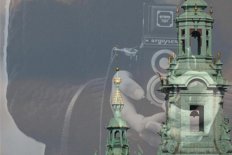 Dalla copertina di La Pioggia di Cracovia