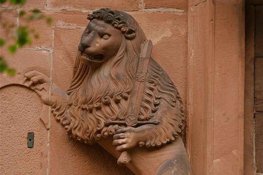 Scultura del Castello di Heidelberg (credits: Hughes Songe)
