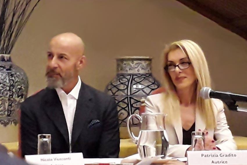 Nicola Viceconti e Patrizia Gradito