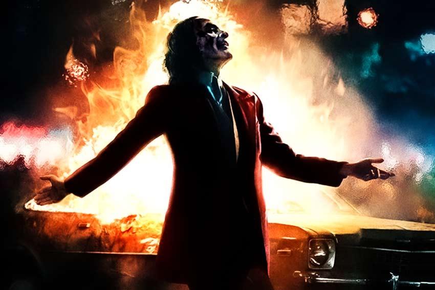Scena finale del film Joker