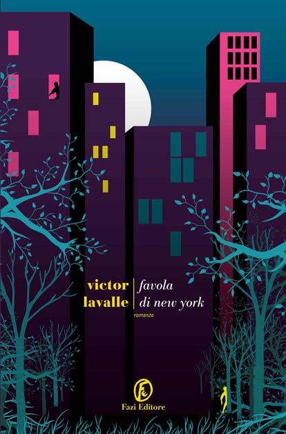 copertina Favola di new York di Victor Lavalle