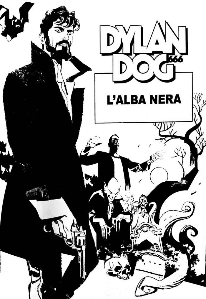 L'alba nera, Dylan Dog