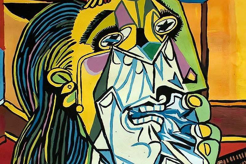Picasso donna che piange
