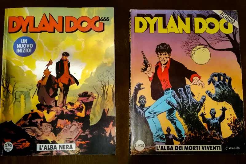 Dylan Dog alba dei morti viventi Dylan Dog L'alba nera