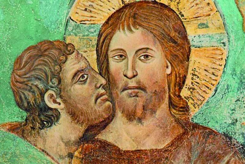 Cimabue bacio giuda