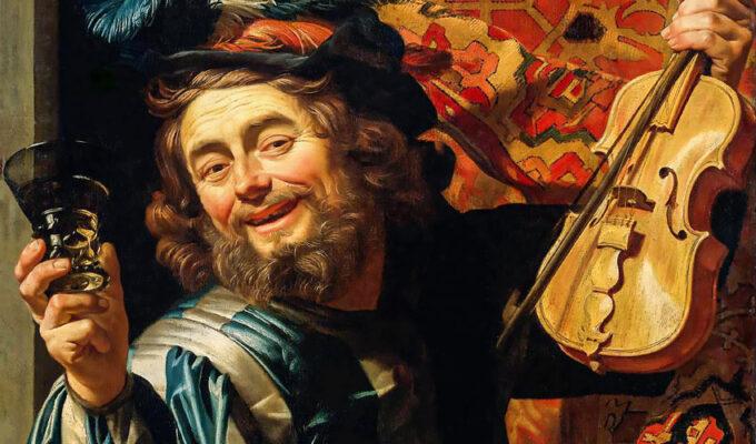 Gherardo delle notti, il gioioso violinista