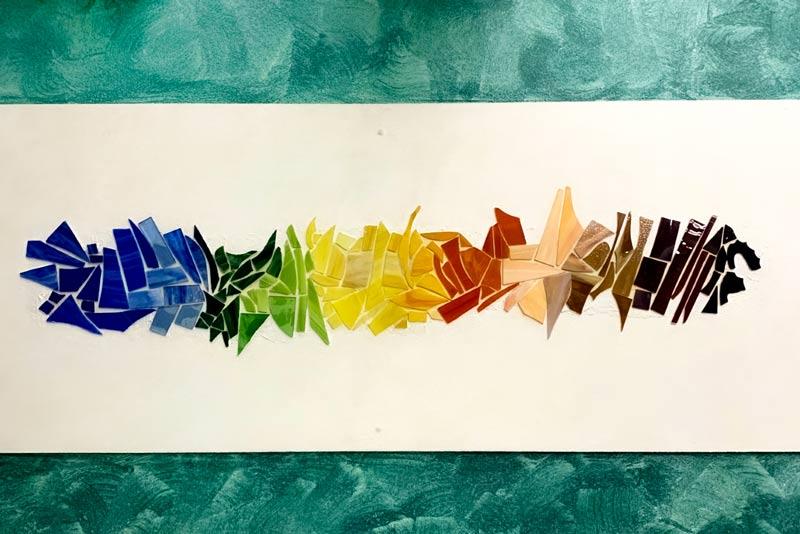 Mosaico Arcobaleno, sonia bianco: un esempio di visuale in musica
