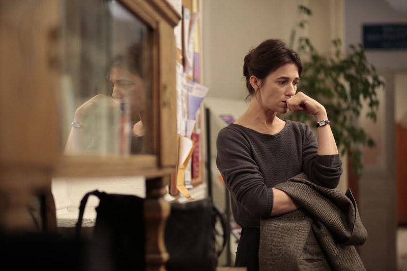 Charlotte Gainsbourg in una scena del film
