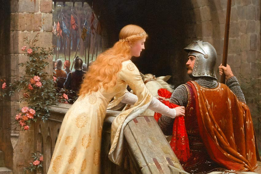 Edmund Blair Leighton, God Speed!