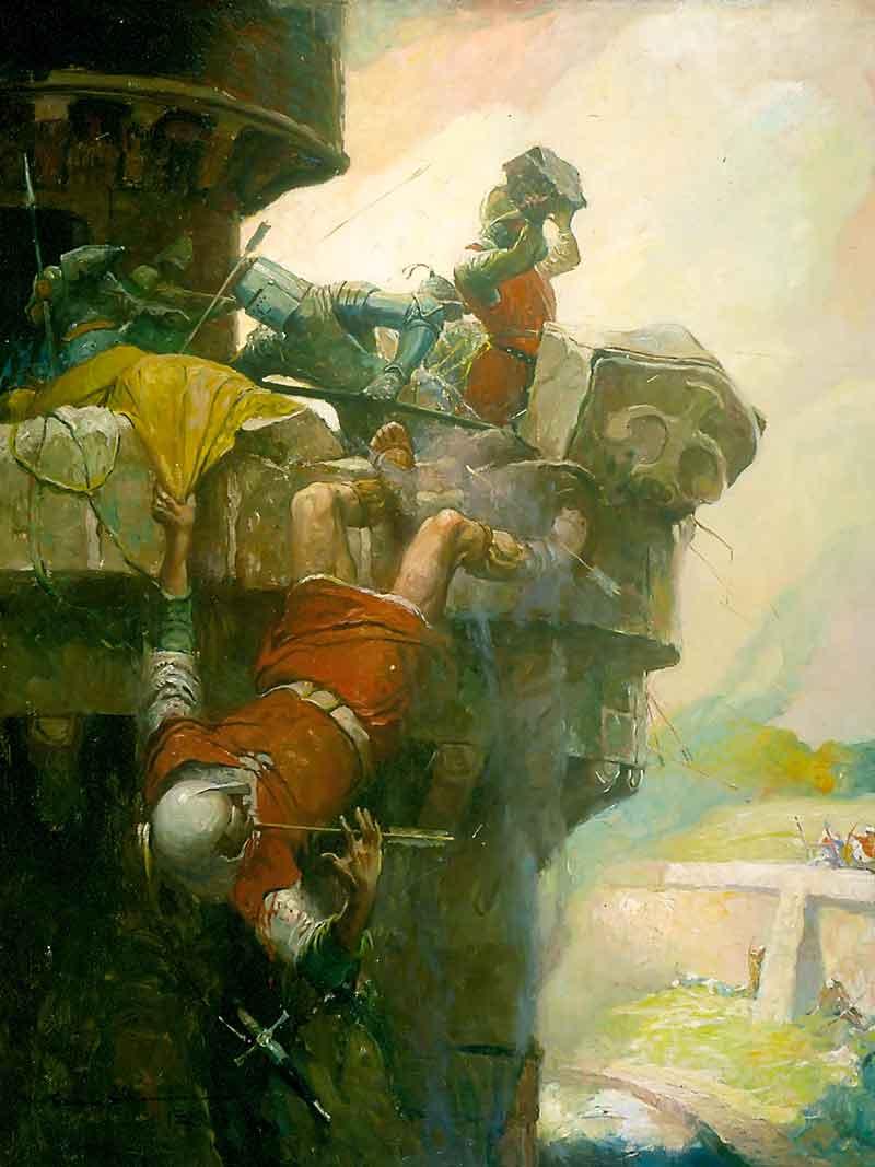 Frank Schoonover, Illustrazione per Ivanhoe