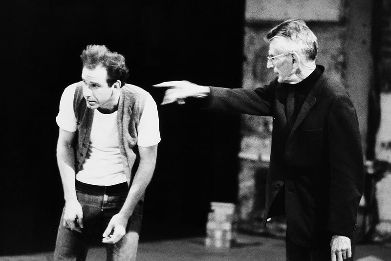 John Minihan, Samuel Beckett alla regia di End Game, 1980