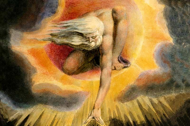 William Blake, Urizen, Ancient of Days