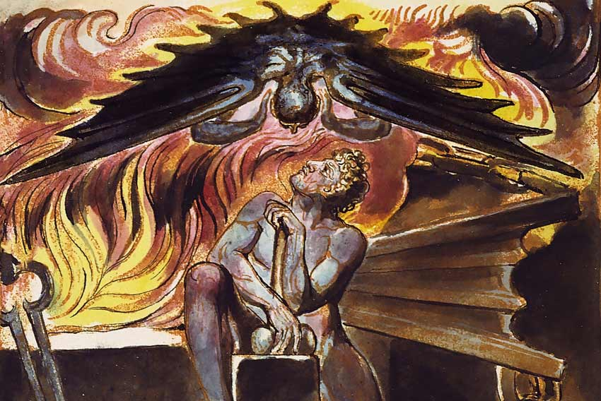 William Blake, Spectre sopra Los