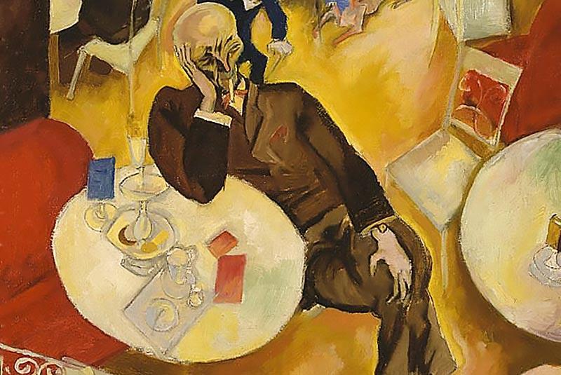 Cafe, 1915 (particolare)