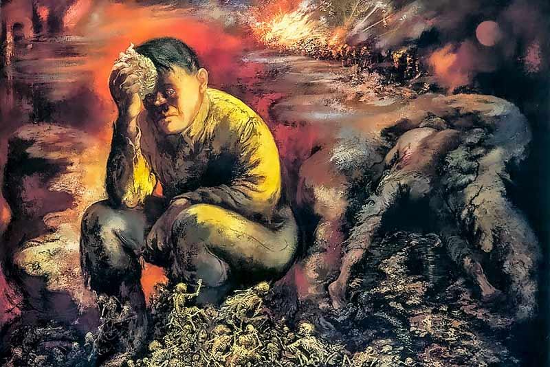 Caino-o-Hitler-all'inferno, 1944