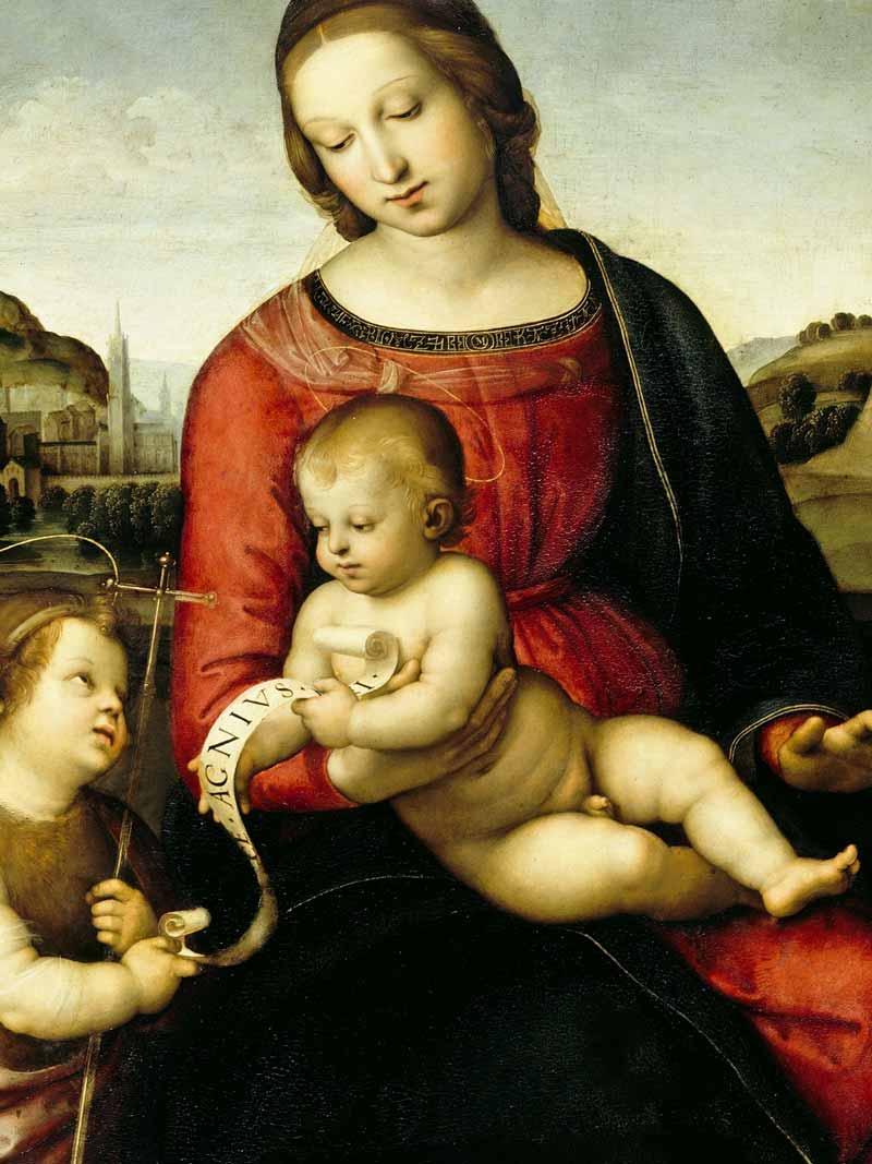 Raffaello Sanzio, Madonna Terranova, 1505