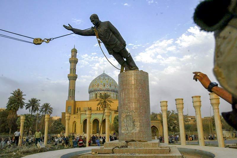 Statua di Saddam