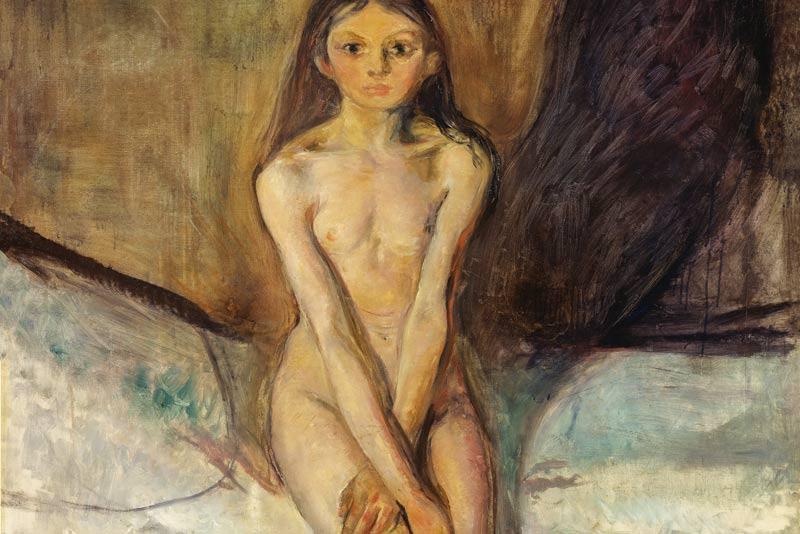Edvard Munch, Pubertà 1894-95