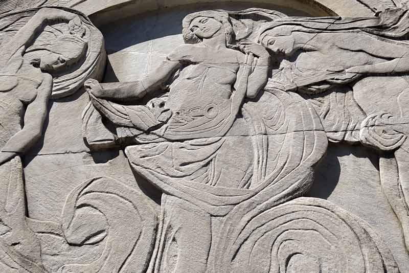 Giorgio Toscanini Cimitero monumentale di Milano