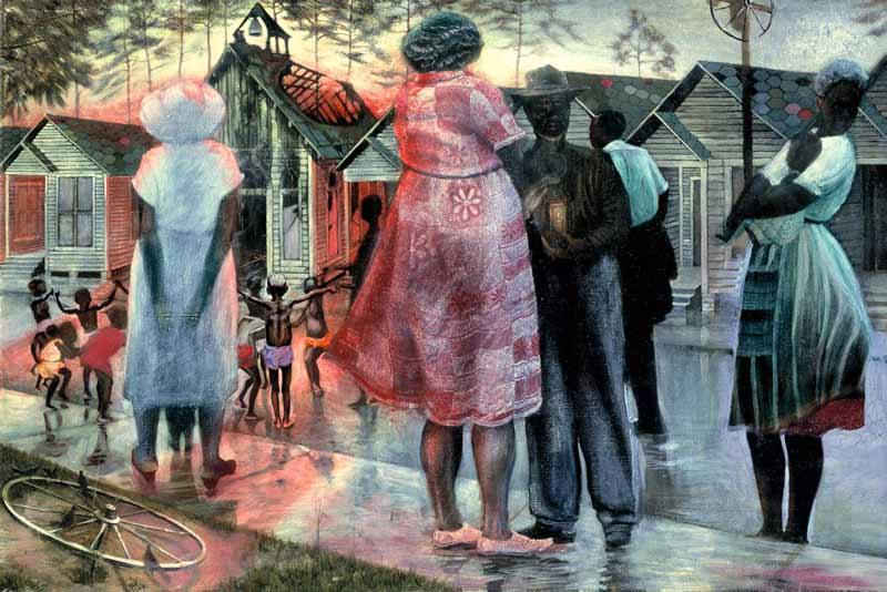 John Biggers, Shotgun, Third Ward