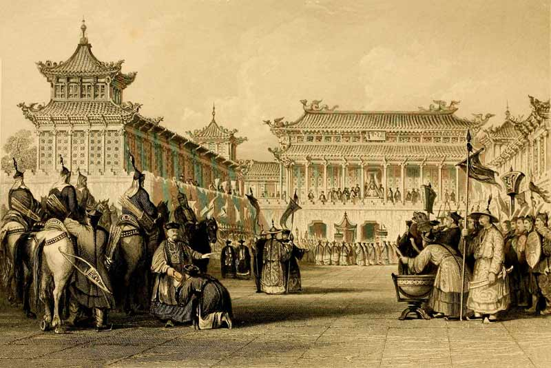 Thomas Allom, George Newenham Wright, L'impero cinese illustrato, 1840-45