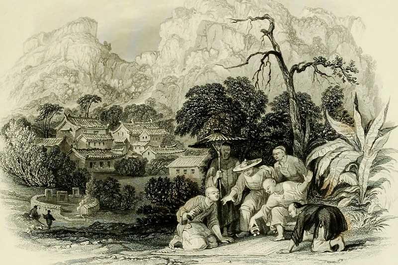Thomas Allom, L'impero cinese illustrato, 1840-45