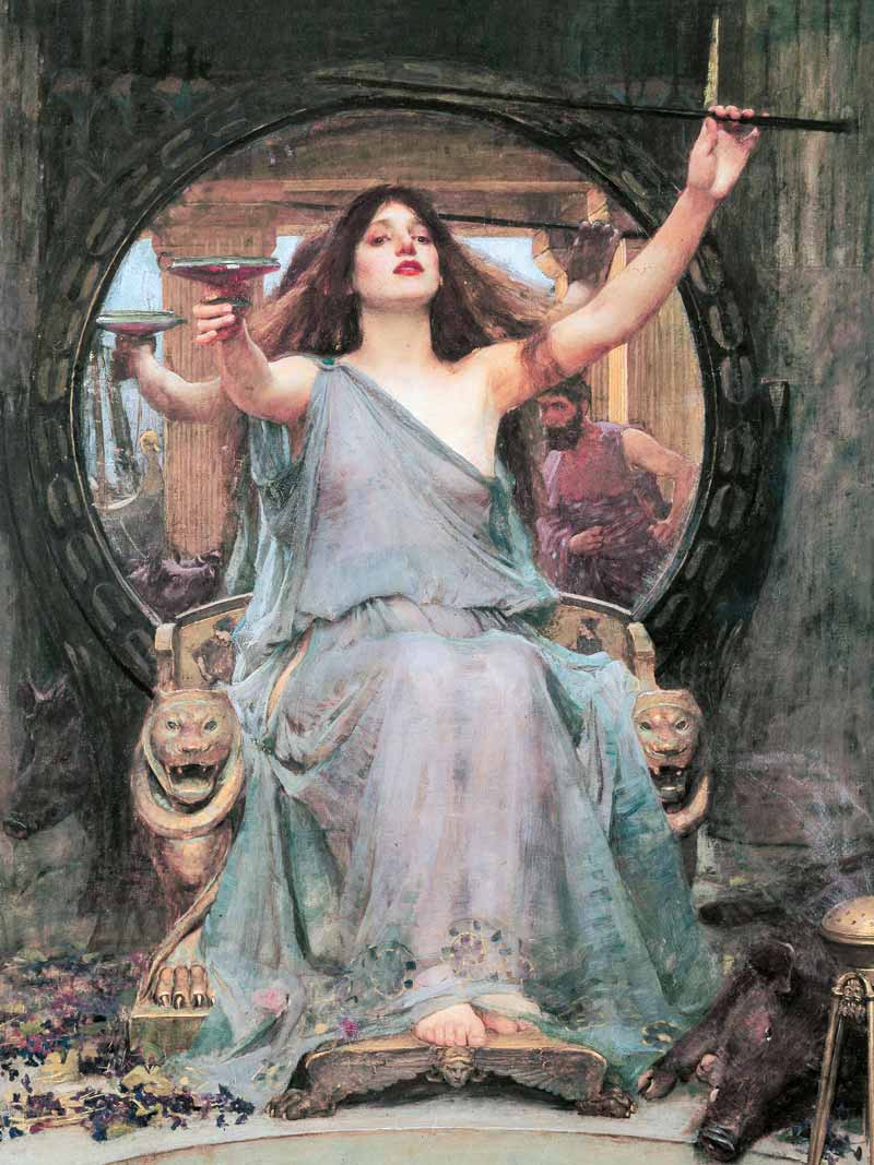 John William Waterhouse, La maga Circe